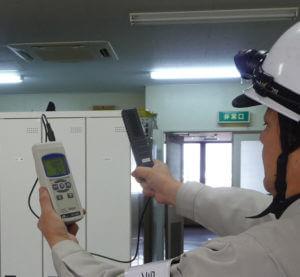 CO2濃度測定